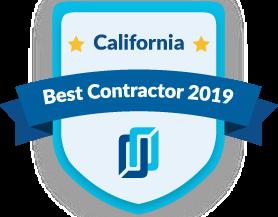Best Contractors in California 2019 award logo