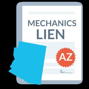 Fill out a Arizona mechanics lien form