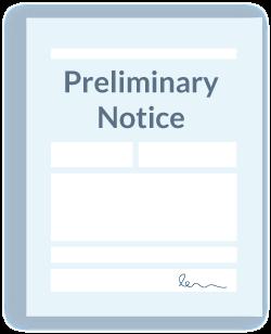 Preliminary Notice icon