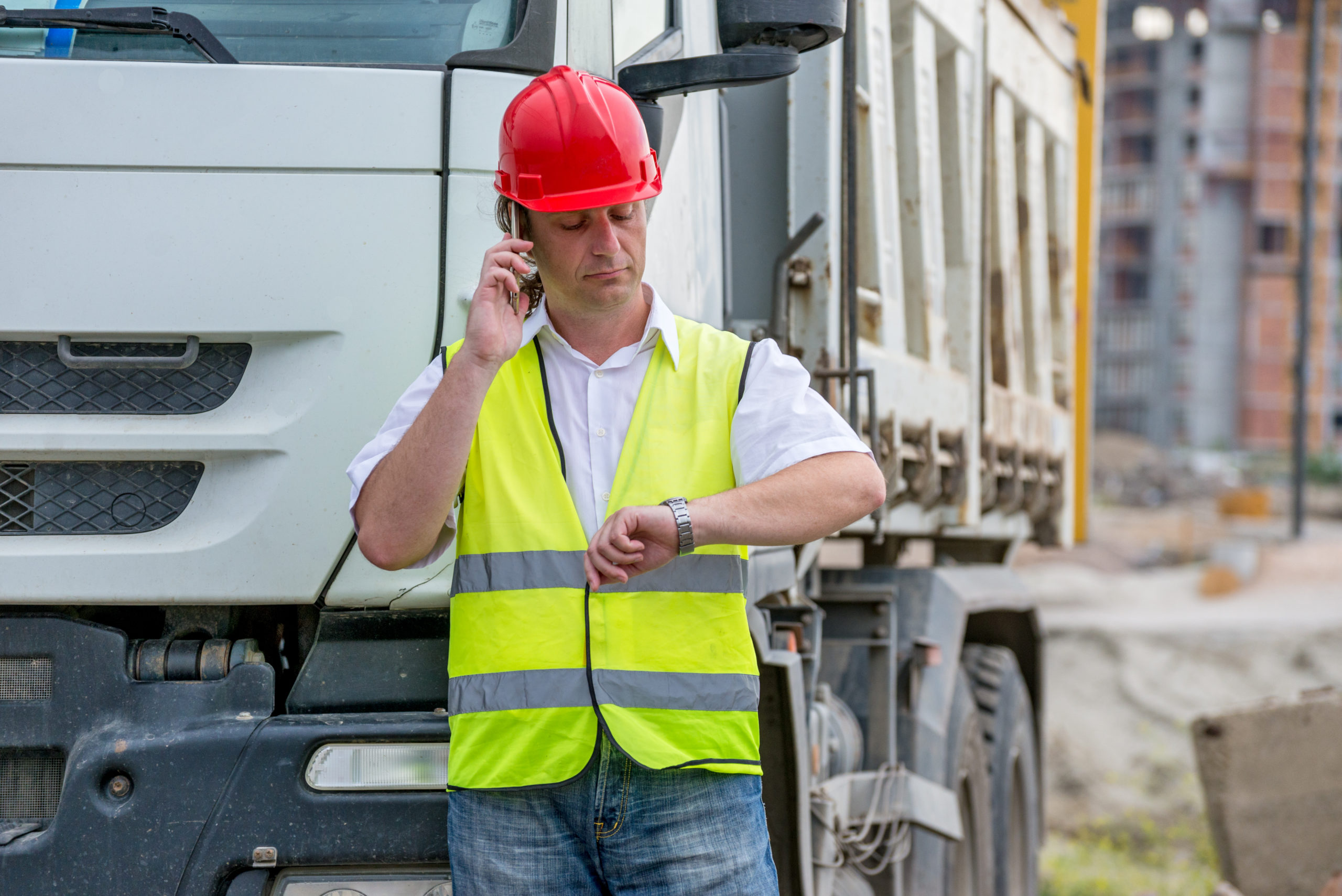 Construction payment takes time