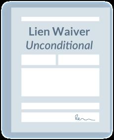 Lien Waiver Unconditional