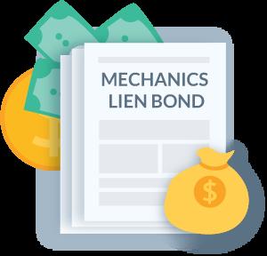 Mechanics lien bond in construction