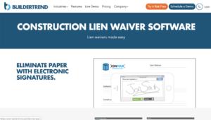 builder-trend-lien-waiver-tools